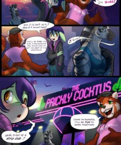 Stripped Down 003 and Gay furries comics