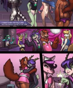 Stripped Down 037 and Gay furries comics