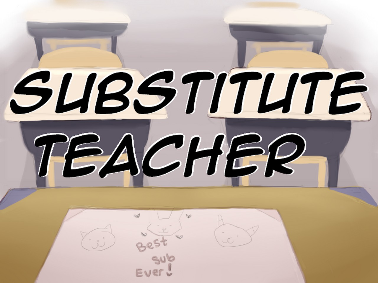 Substitute Teacher gay furry comic