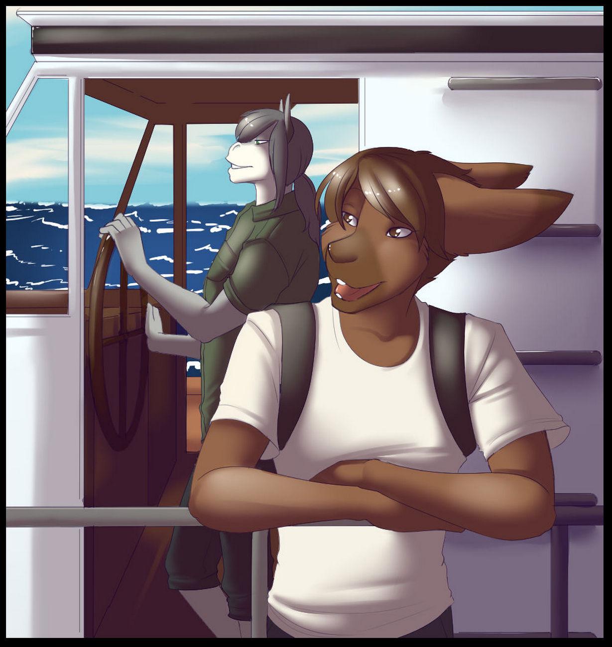 Summer Break gay furry comic