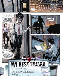 Super Sons – My Best Friend gay furry comic