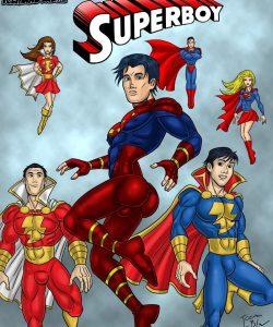 Superboy gay furry comic