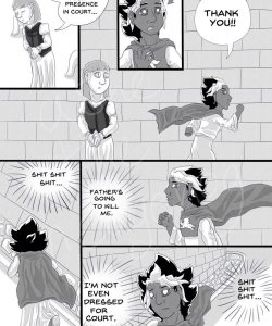 Sword & Crown 005 and Gay furries comics