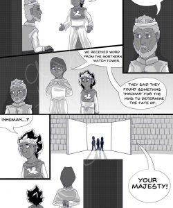 Sword & Crown 007 and Gay furries comics