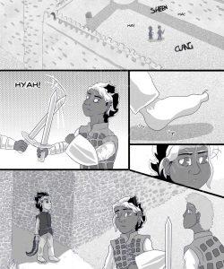 Sword & Crown 018 and Gay furries comics