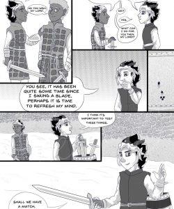 Sword & Crown 019 and Gay furries comics