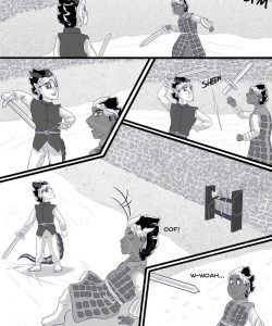 Sword & Crown gay furry comic