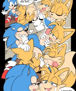 Tails Forces 004 and Gay furries comics