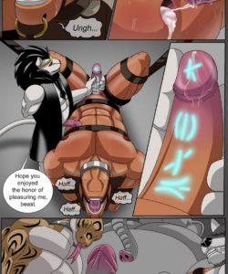 Taming A Bull 004 and Gay furries comics