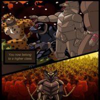Taming A Bull gay furry comic
