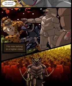 Taming A Bull 012 and Gay furries comics