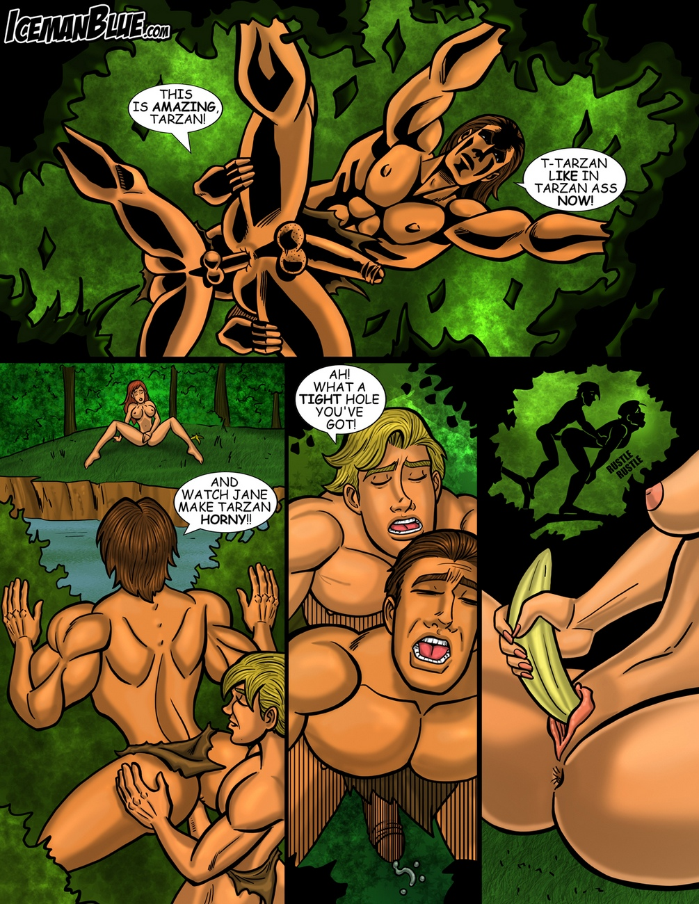 Tarzan gay furry comic
