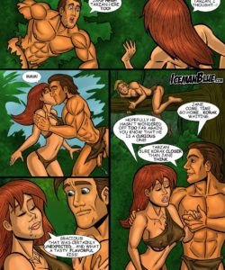 Tarzan 008 and Gay furries comics