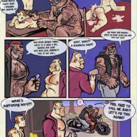 Tattoo Beast gay furry comic