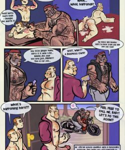 Tattoo Beast 004 and Gay furries comics