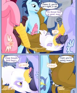 Team Building Exercises 005 and Gay furries comics