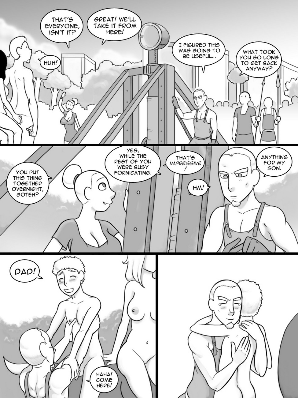 Temple Of The Morning Wood 5 gay furry comic