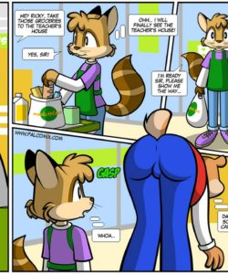 That Ass 001 and Gay furries comics