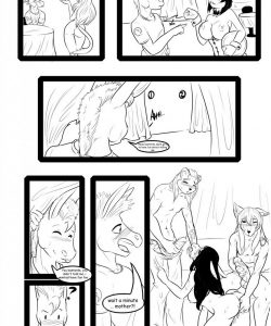 The 9 Vixens Club 006 and Gay furries comics