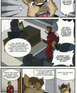 The Bellhop And His Special Guest 004 and Gay furries comics