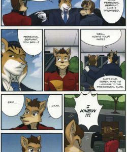 The Bellhop And His Special Guest 007 and Gay furries comics
