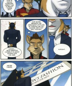 The Bellhop And His Special Guest 011 and Gay furries comics