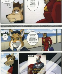 The Bellhop And His Special Guest 015 and Gay furries comics
