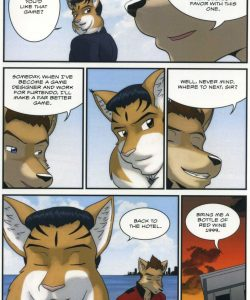 The Bellhop And His Special Guest 016 and Gay furries comics