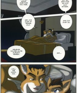 The Bellhop And His Special Guest 041 and Gay furries comics