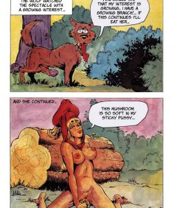 The Big Red Riding Hood 004 and Gay furries comics