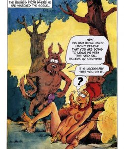 The Big Red Riding Hood 005 and Gay furries comics