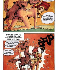 The Big Red Riding Hood 008 and Gay furries comics