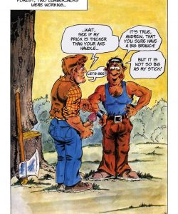 The Big Red Riding Hood 009 and Gay furries comics