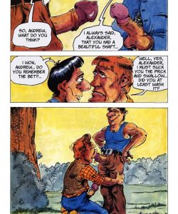 The Big Red Riding Hood 010 and Gay furries comics