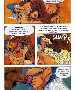 The Big Red Riding Hood 017 and Gay furries comics
