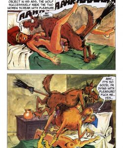 The Big Red Riding Hood 025 and Gay furries comics
