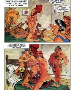 The Big Red Riding Hood 027 and Gay furries comics