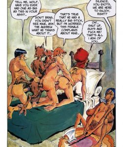 The Big Red Riding Hood 030 and Gay furries comics
