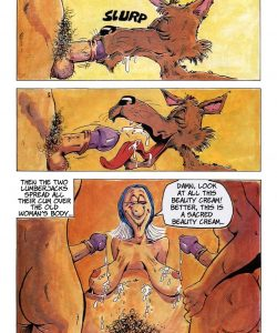 The Big Red Riding Hood 031 and Gay furries comics