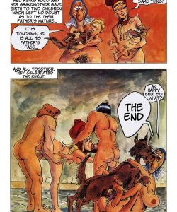 The Big Red Riding Hood 033 and Gay furries comics
