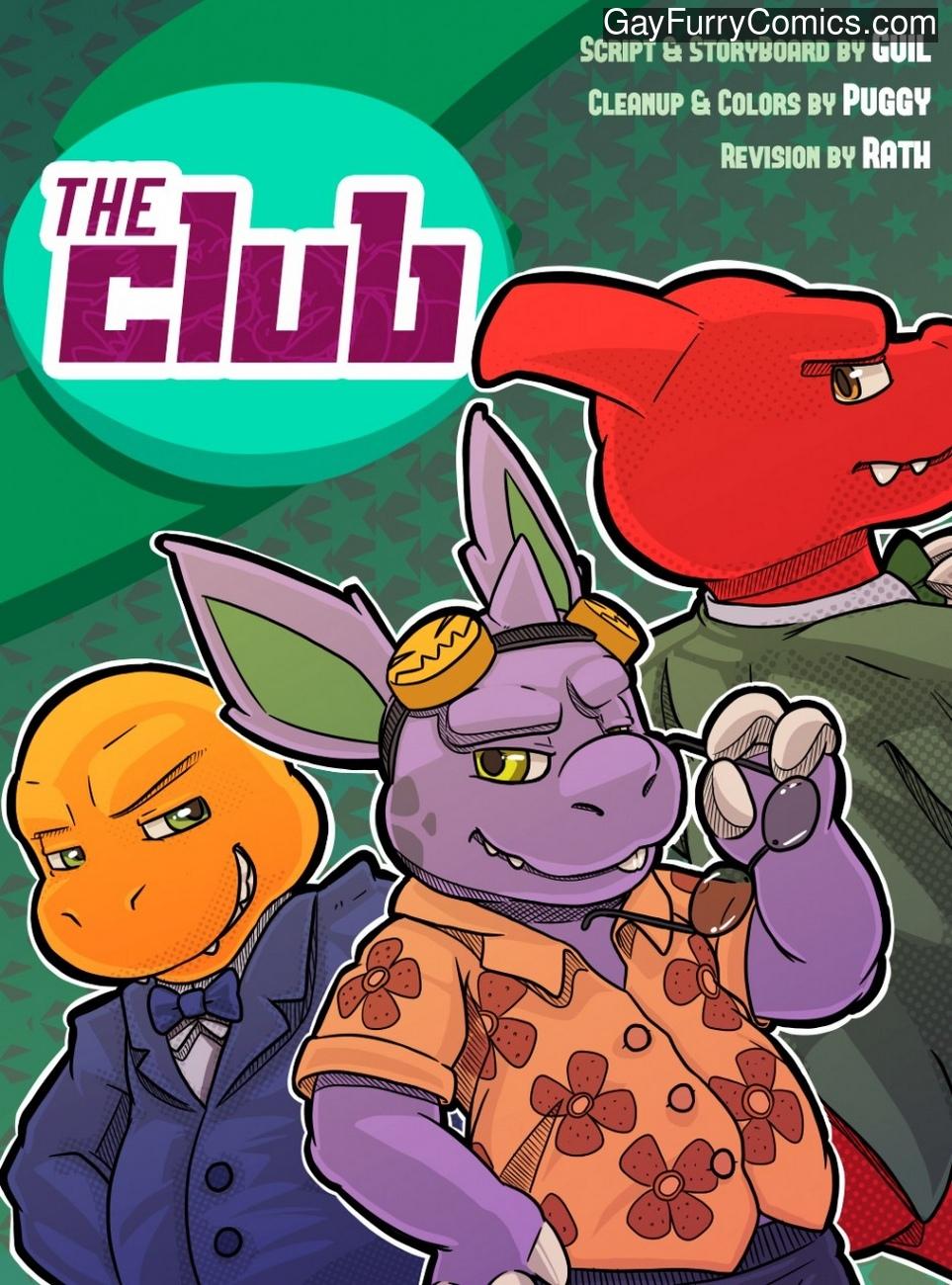 The Club 1 gay furry comic