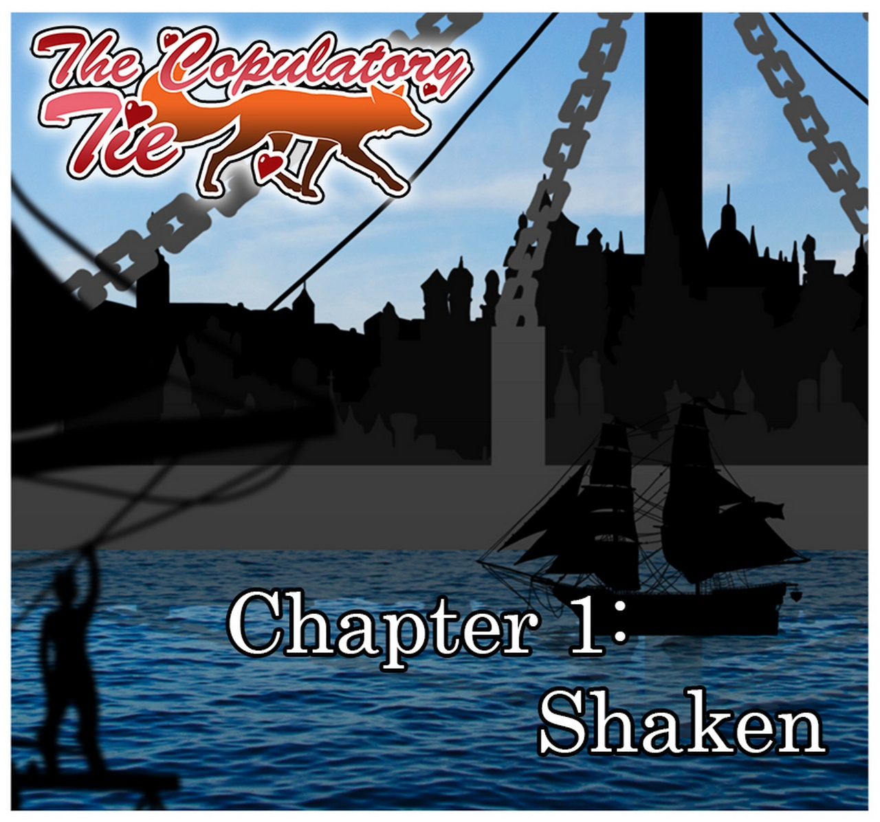 The Copulatory Tie 1 – Shaken gay furry comic