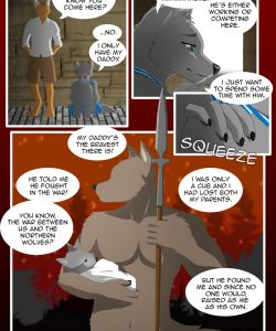 The Copulatory Tie 6 - Father's Love 007 and Gay furries comics