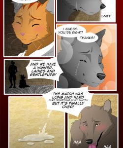 The Copulatory Tie 6 - Father's Love 010 and Gay furries comics