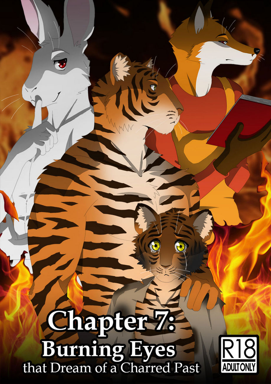 The Copulatory Tie 7 – Burning Eyes gay furry comic