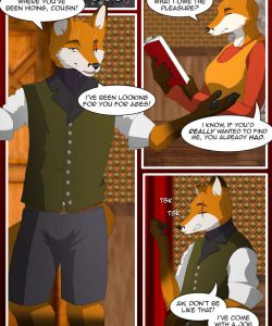 The Copulatory Tie 7 - Burning Eyes 002 and Gay furries comics