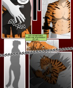 The Copulatory Tie 7 - Burning Eyes 012 and Gay furries comics