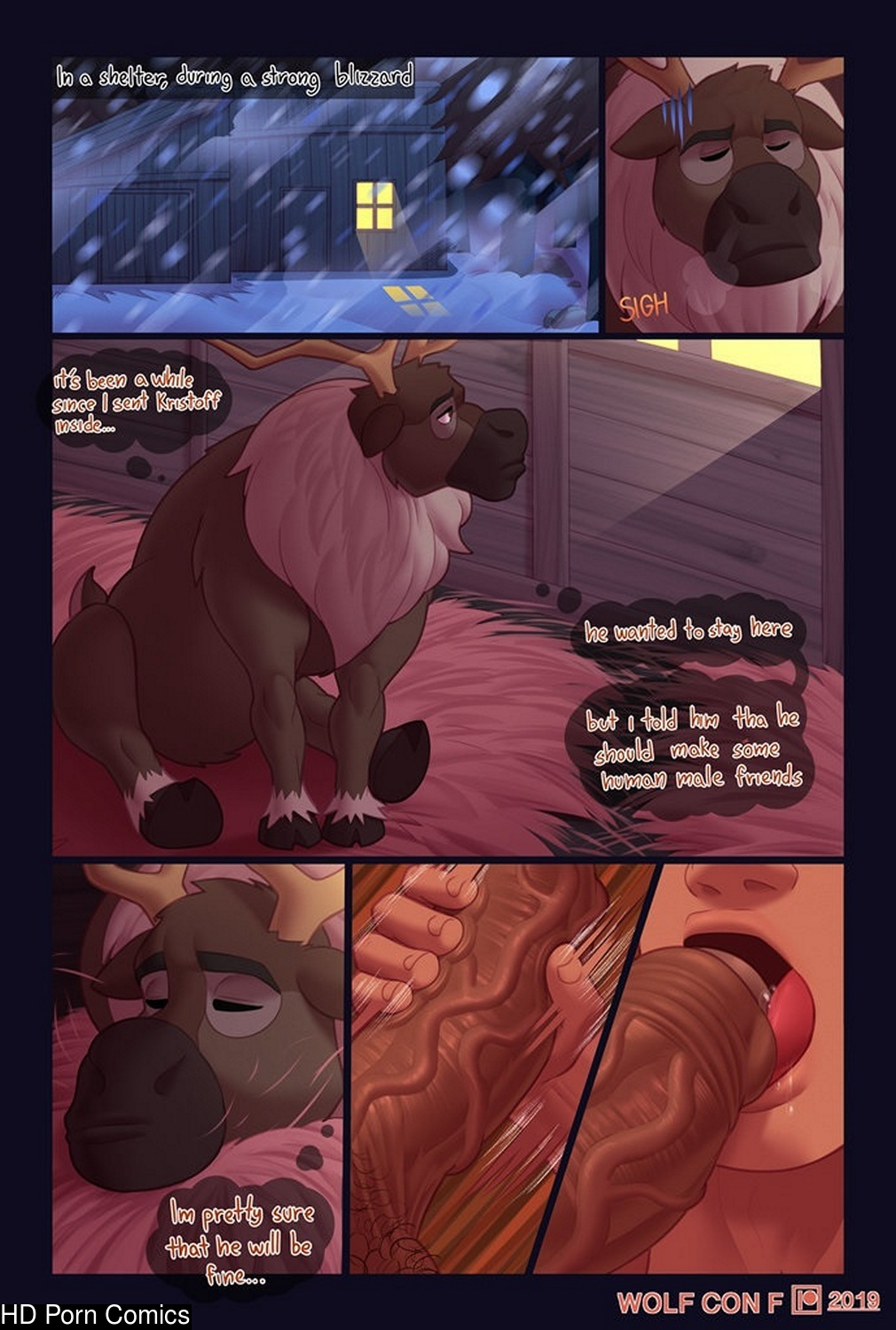 The Creamy Storm gay furry comic