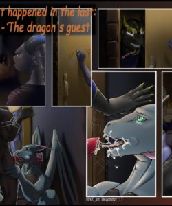 The Dragon's Guest 001 and Gay furries comics