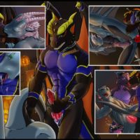 The Dragon's Guest gay furry comic